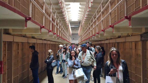 Fotodagbog fra San Francisco - 3 etagers fængselsceller i Alcatraz - Rejsdiglykkelig.dk