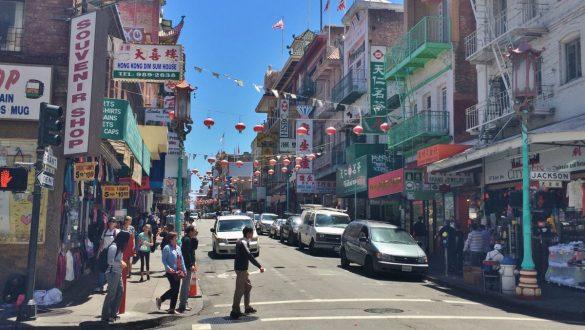 Fotodagbog fra San Francisco - China Town i SF - Rejsdiglykkelig.dk