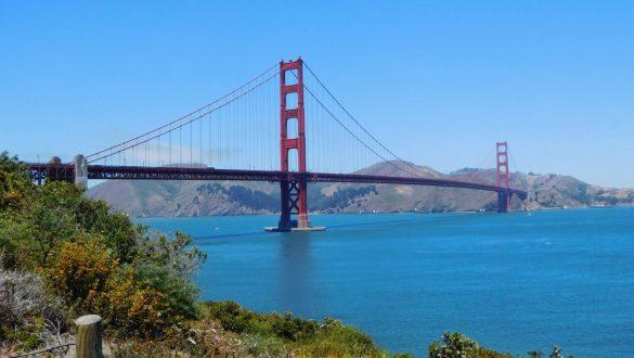 Fotodagbog fra San Francisco - Golden Gate Bridge - Rejsdiglykkelig.dk