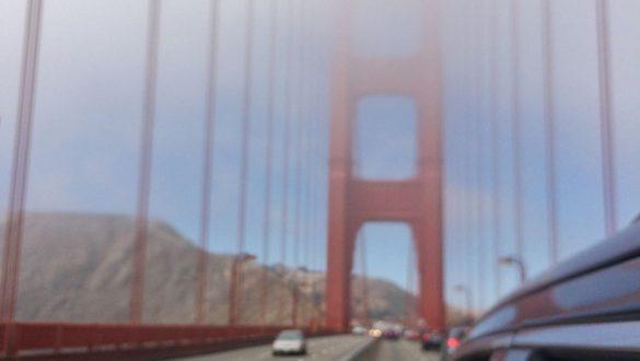 Fotodagbog fra San Francisco - Kører på Golden Gate - Rejsdiglykkelig.dk
