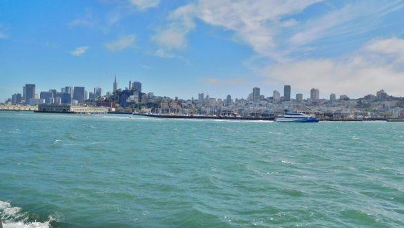 Fotodagbog fra San Francisco - Smukke San Francisco fra vandet - Rejsdiglykkelig.dk