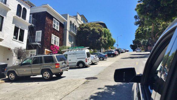 Fotodagbog fra San Francisco - Stejle gader i San Francisco - Rejsdiglykkelig.dk