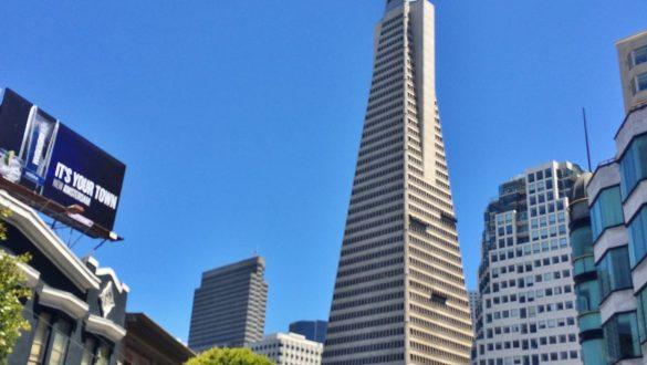 Fotodagbog fra San Francisco - Transamerica pyramiden - San Franciscos højeste bygning - Rejsdiglykkelig.dk
