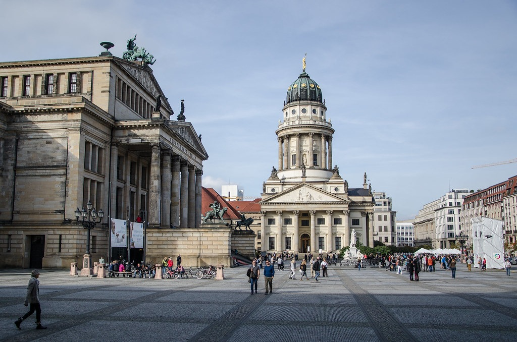 Must see seværdigheder i Berlin - Gendarmenmarkt - Rejsdiglykkelig.dk