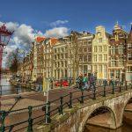 Gratis guidet rundtur i Amsterdam