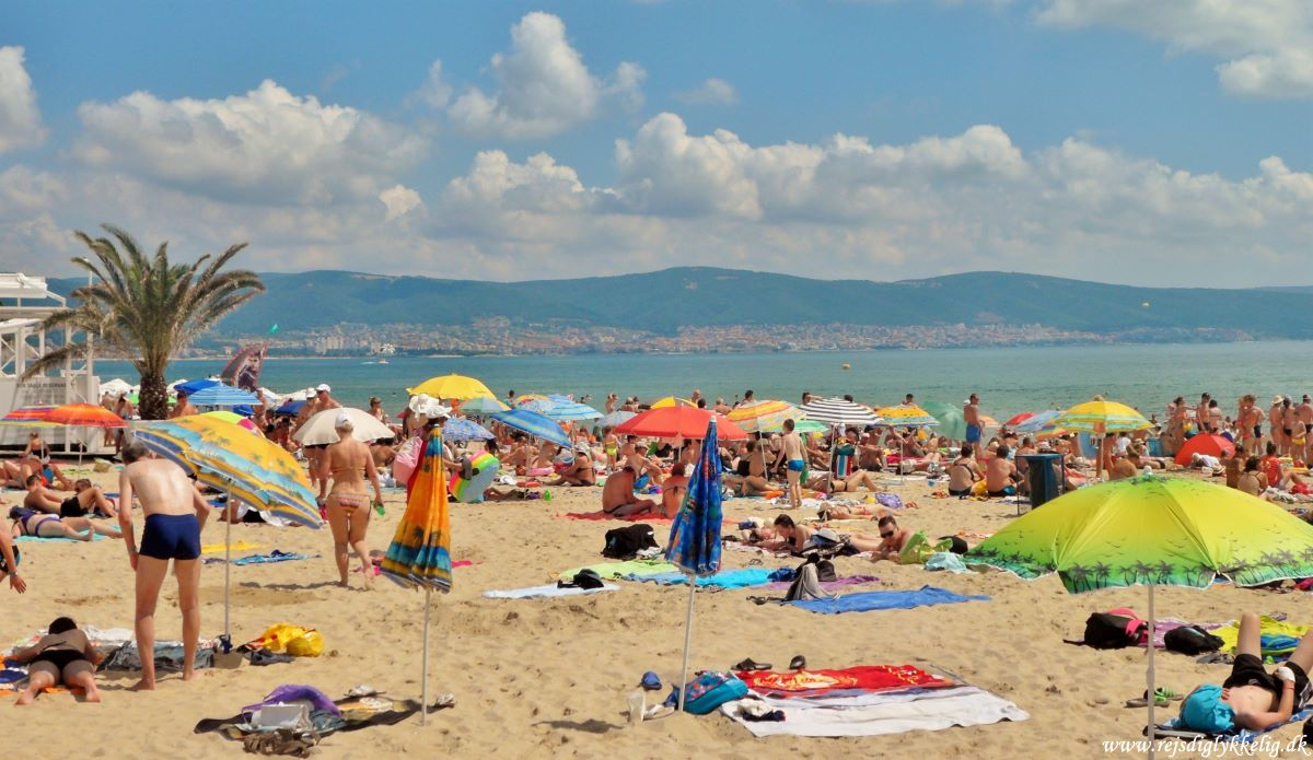 Oplevelser i Sunny Beach - Stranden - Rejsdiglykkelig.dk