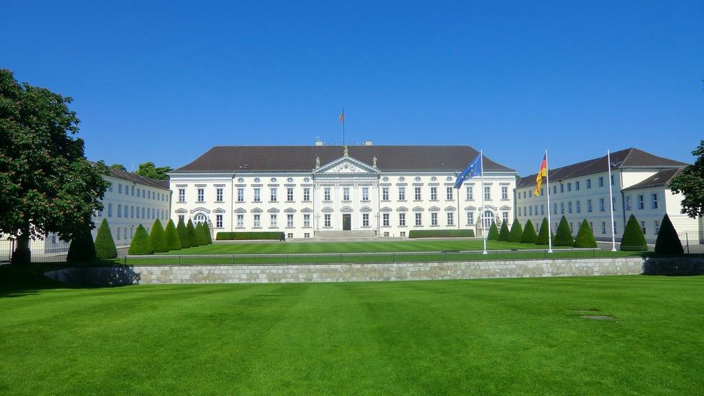 Smukke slotte i Berlin - Schloss Bellevue - Rejsdiglykkelig.dk