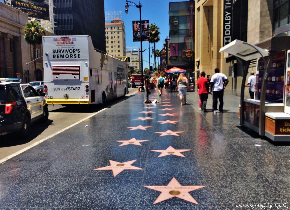 Must see seværdigheder i Los Angeles - Walk of Fame - Rejsdiglykkelig.dk