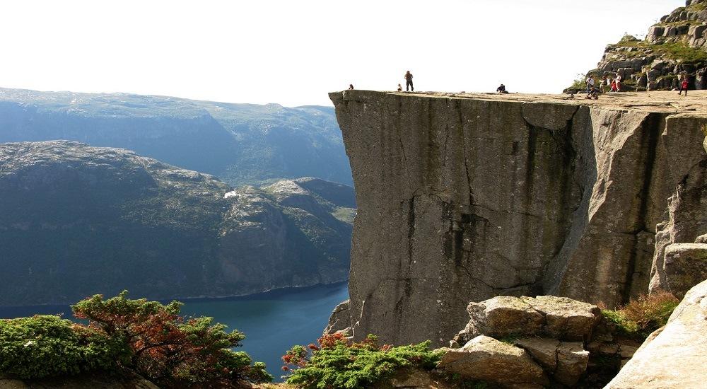 Norges smukkeste steder - Preikestolen - www.rejsdiglykkelig.dk