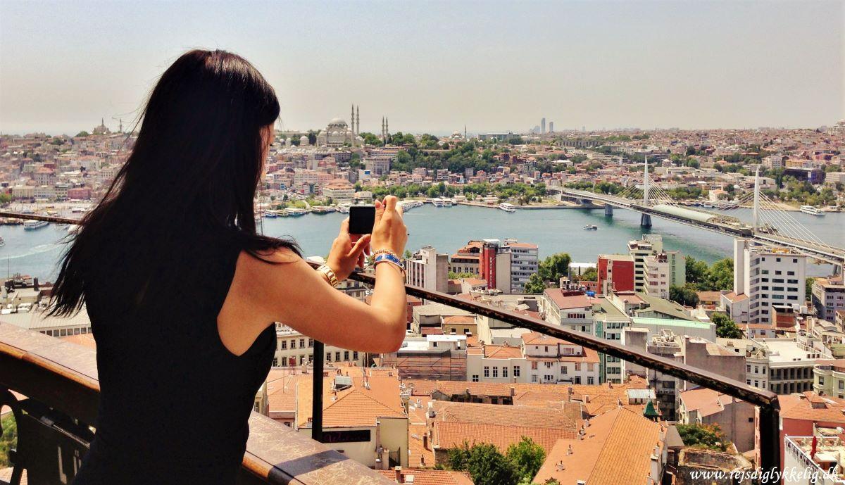 Rejseguide til Istanbul - Galata Tower - Rejsdiglykkelig.dk