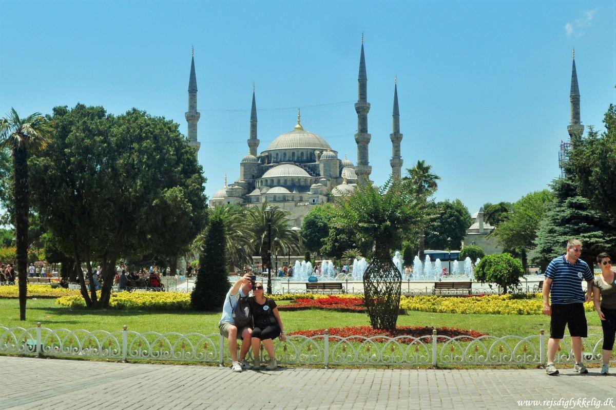 Rejseguide til Istanbul - Oplevelser - Den Blå Moske - Rejsdiglykkelig.dk