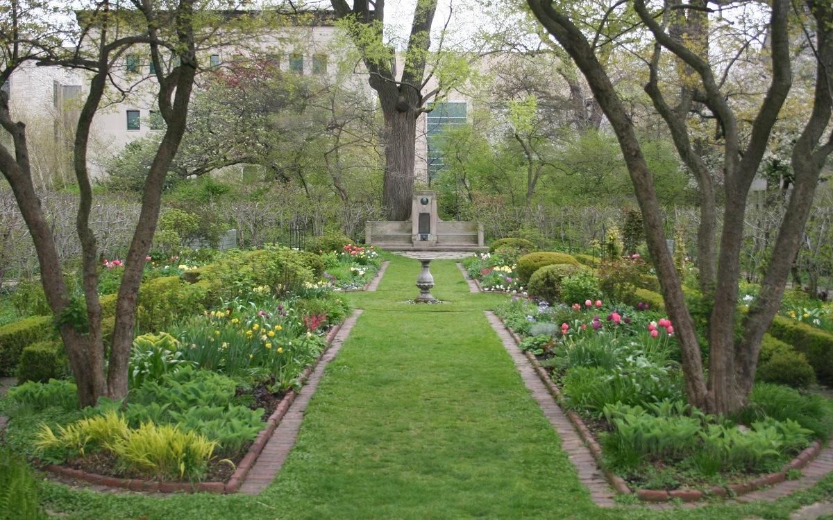 De bedste seværdigheder i Central Park - Shakespeare Garden - www.rejsdiglykkelig.dk