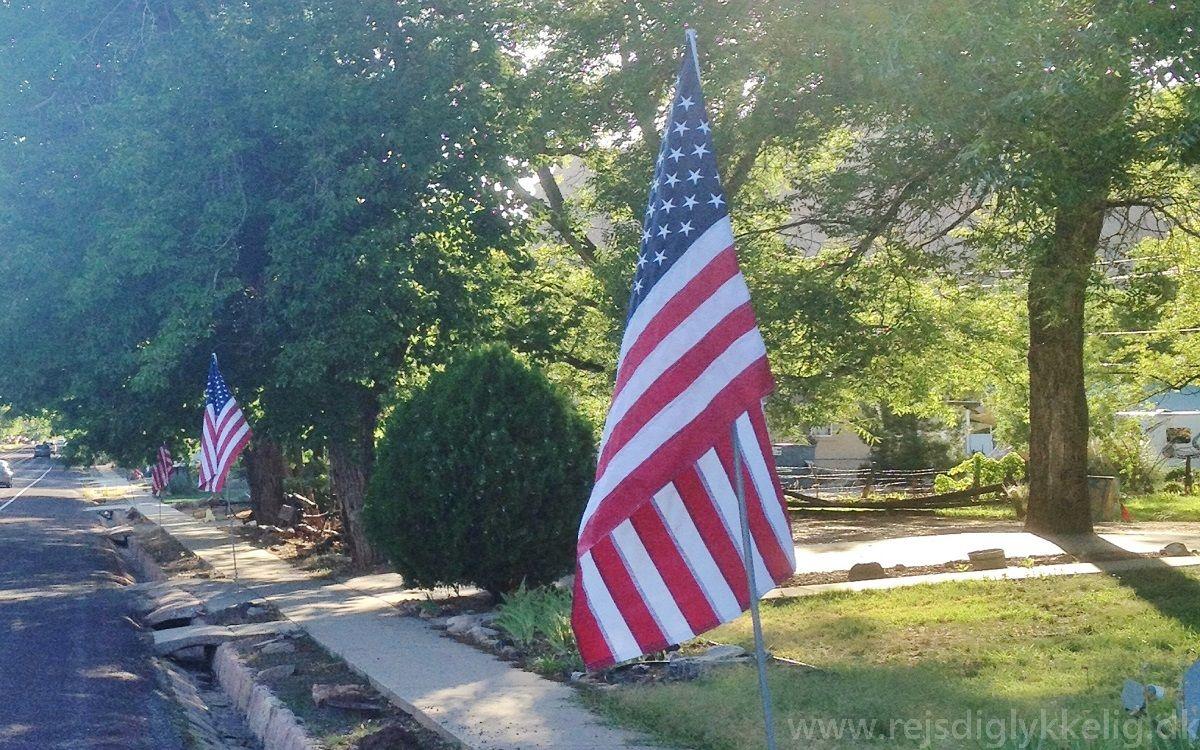 4th of July -USA's flag - www.rejsdiglykkelig.dk