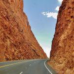 Dagsprogram på road trip i det vestlige USA