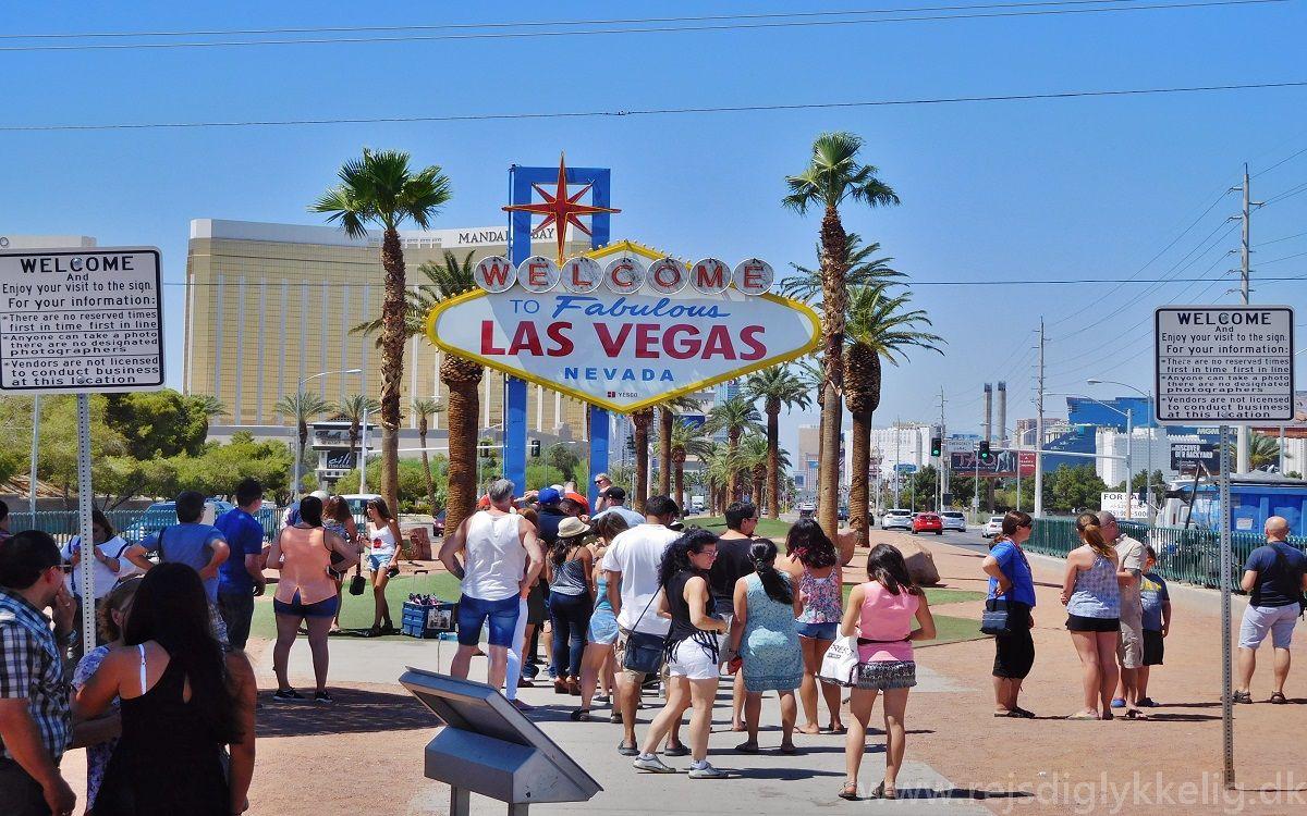 Dagsprogram i det vestlige USA - Las Vegas - www.rejsdiglykkelig.dk