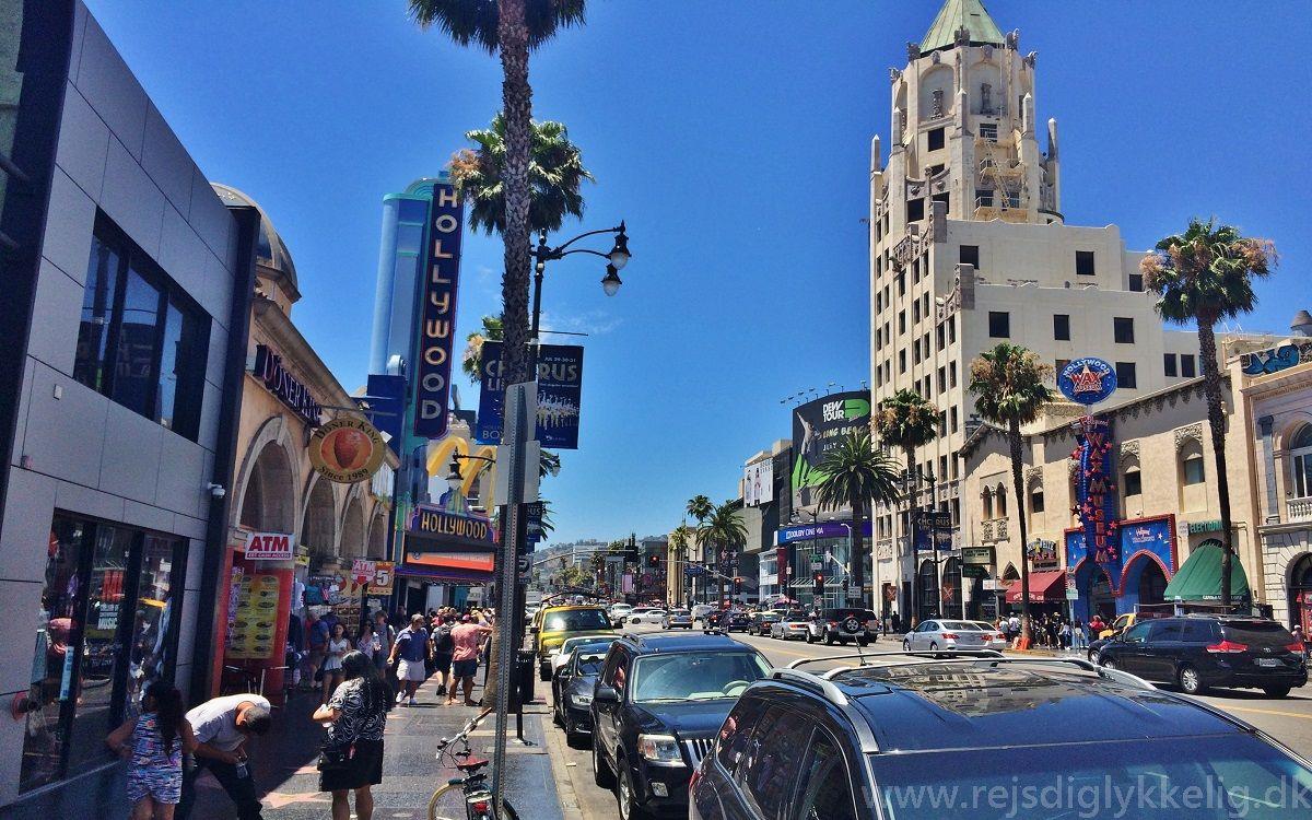 Dagsprogram i det vestlige USA - Hollywood i Los Angeles - www.rejsdiglykkelig.dk