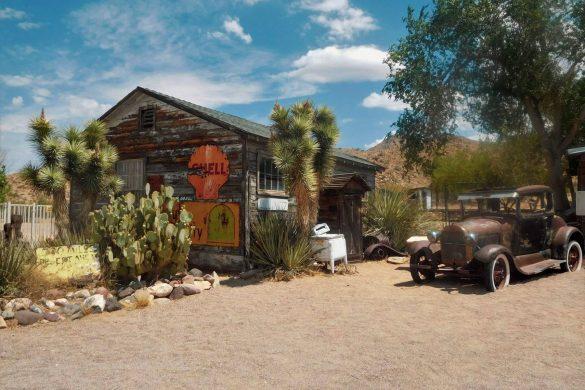 Oplevelser på Route 66 i Arizona - Hackberry General Store. -Rejs Dig Lykkelig