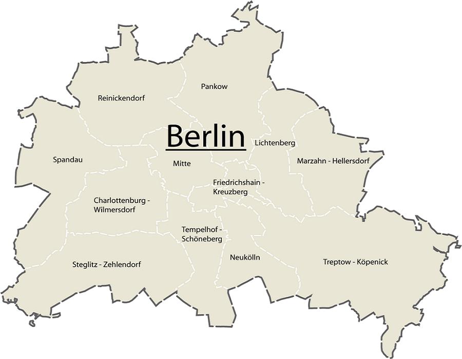 Guide til distrikter og bydele i Berlin - Rejsdiglykkelig.dk