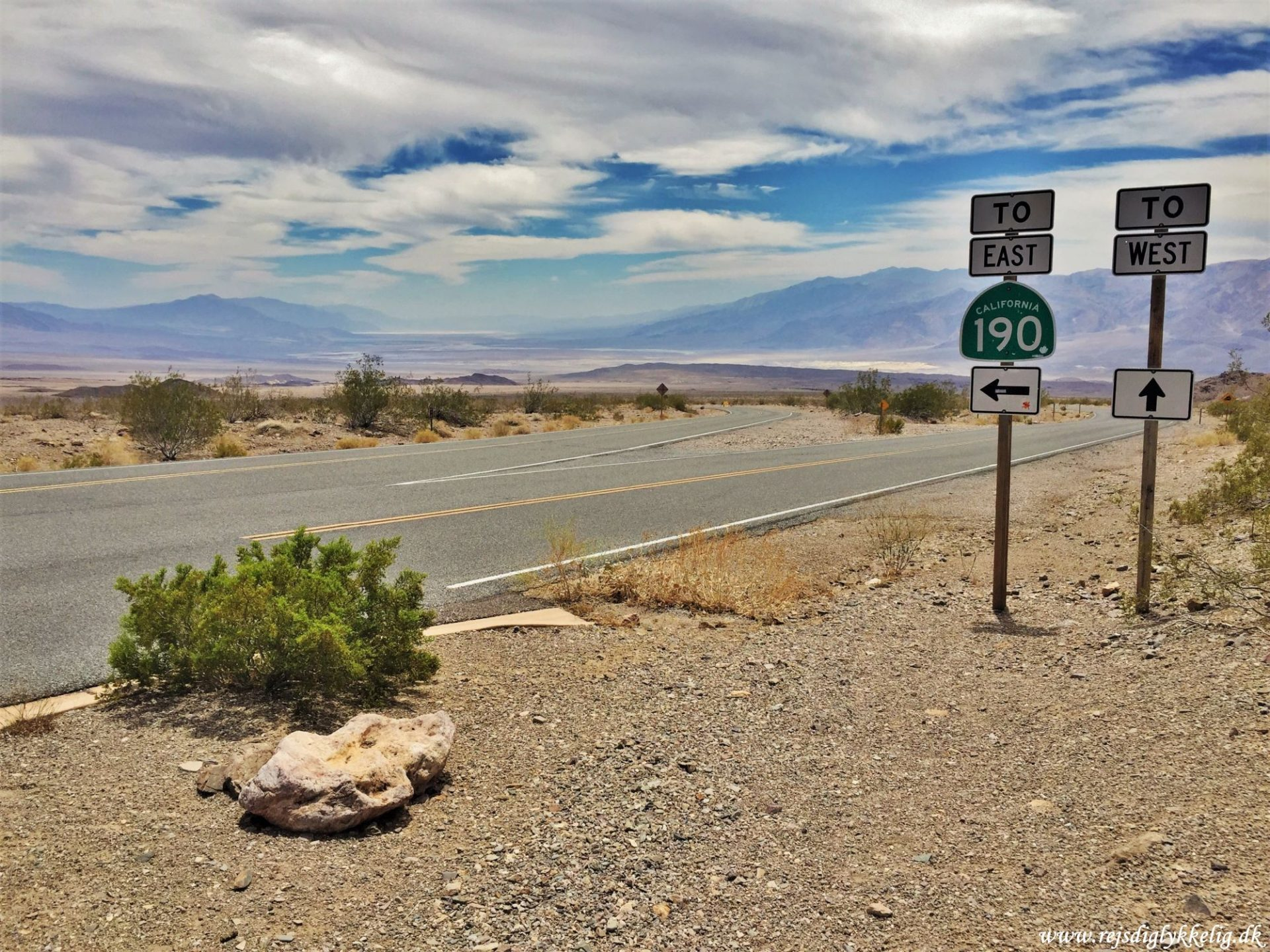 36 oplevelser i Californien - Death Valley - Rejsdiglykkelig.dk