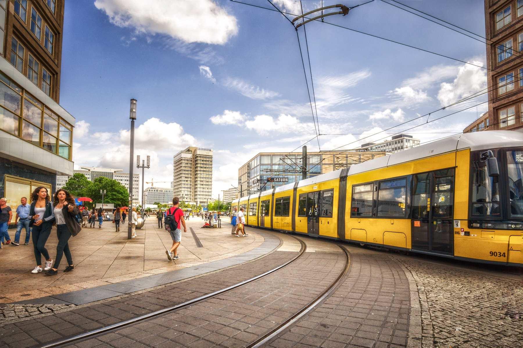 Guide til offentlig transport i Berlin - Rejs Dig Lykkelig