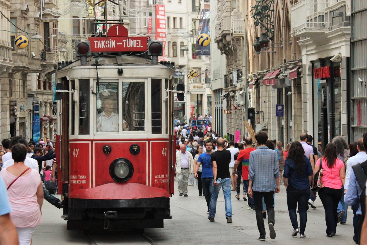 10 Steder til Shopping i Istanbul - Istiklal Caddesi - Rejs Dig Lykkelig