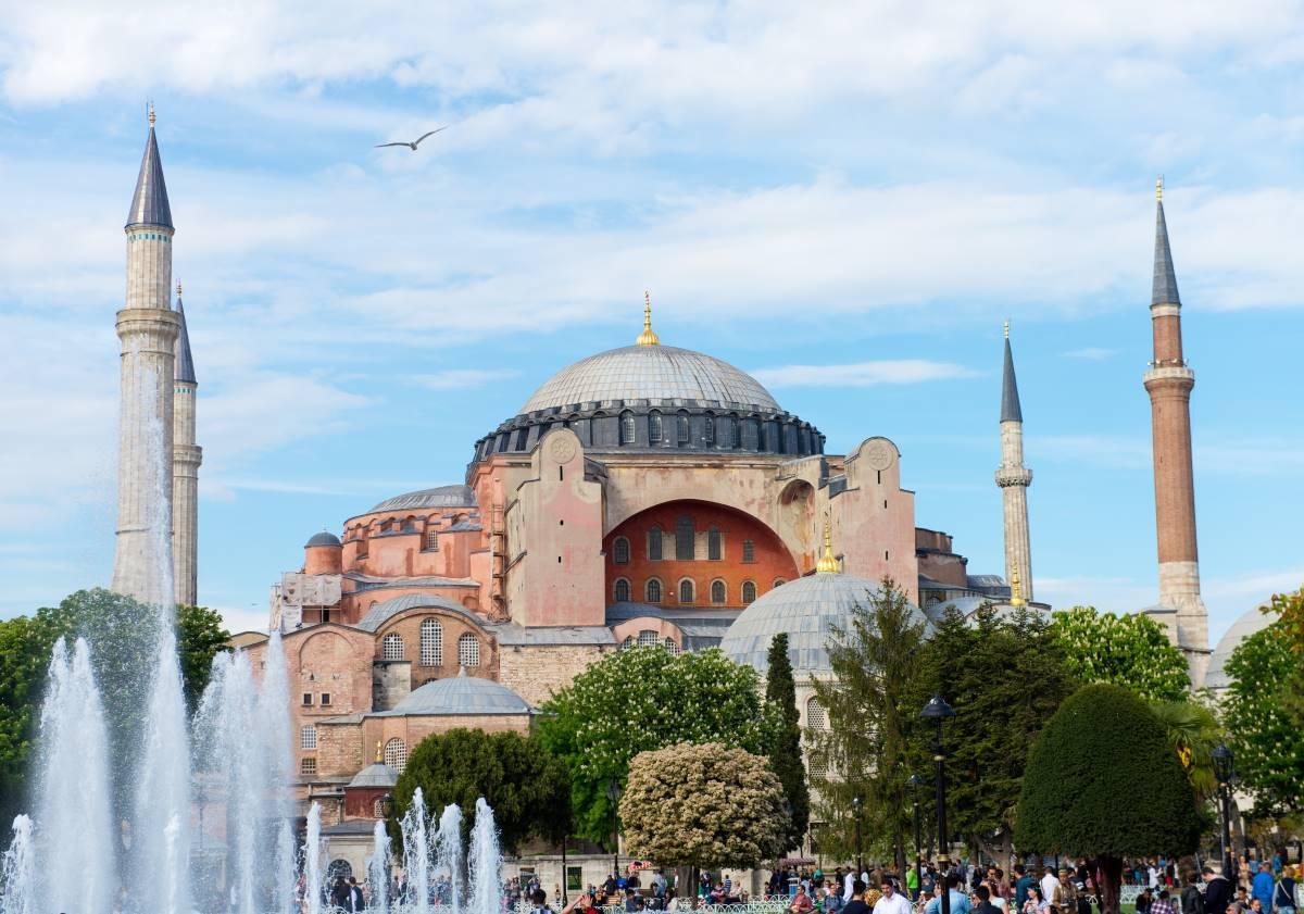 Hagia Sophia Moskeen - Rejs Dig Lykkelig