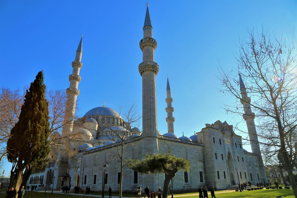 18 Oplevelser i Istanbul - Süleymaniye Moske - Rejs Dig Lykkelig
