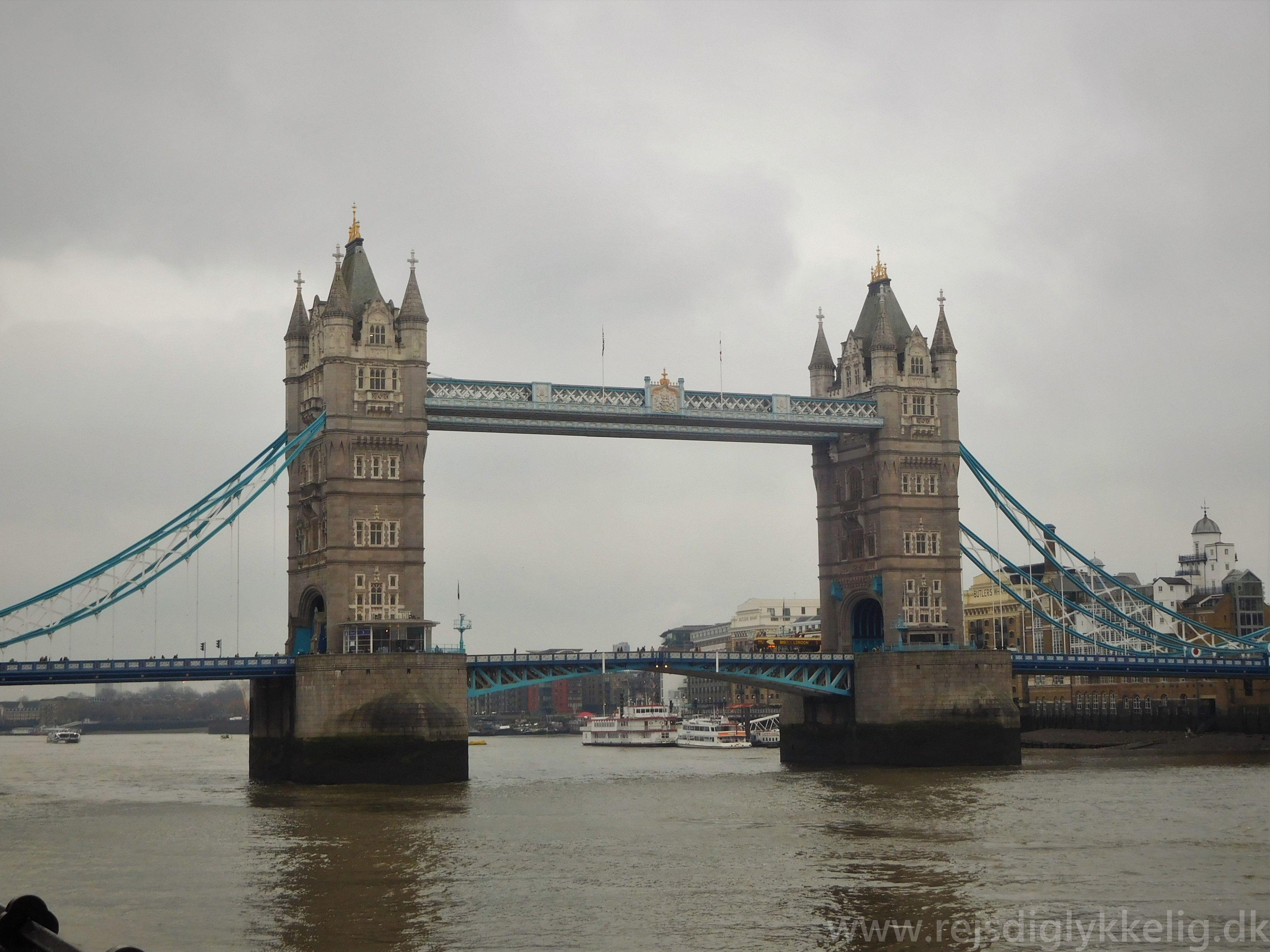 Tilbageblik på 2018 - Tower Bridge - Rejsdiglykkelig.dk
