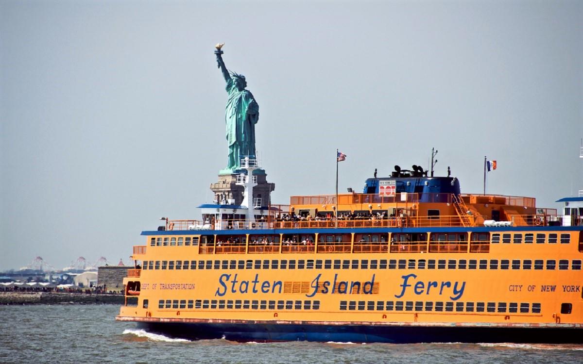 Guide til bydele i New York - Staten Island Ferry - Rejsdiglykkelig.dk