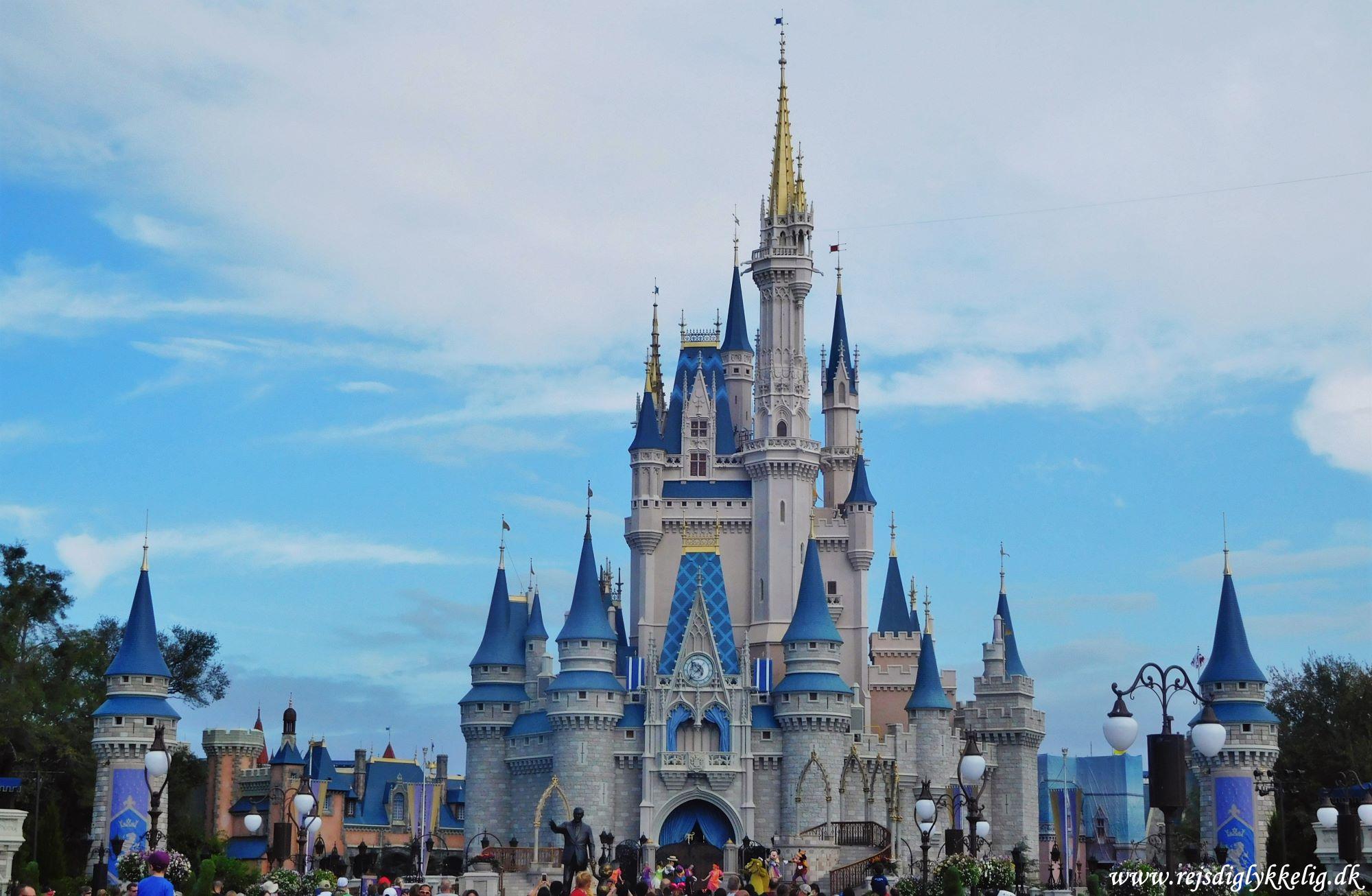 13 Forlystelsesparker i Florida - Disney World Magic Kingdom - Rejsdiglykkelig.dk