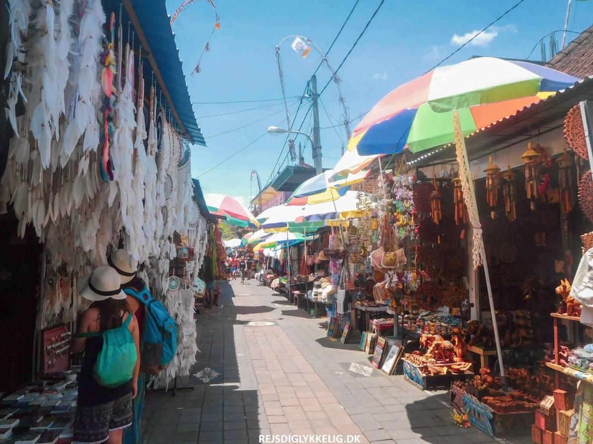 16 oplevelser i Ubud - Ubud Market - Rejs Dig Lykkelig