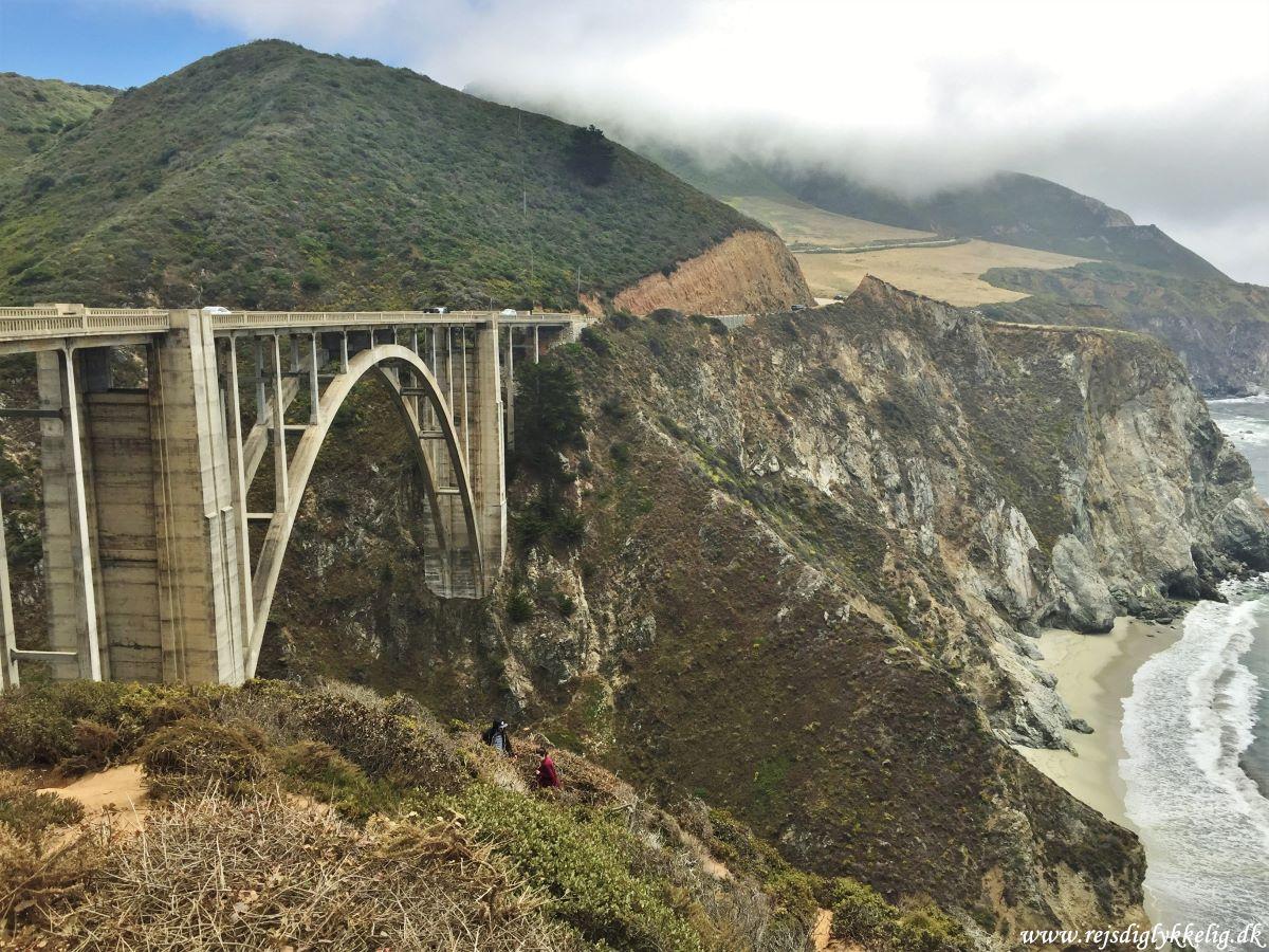 20 oplevelser på Highway 1 - Bixby Creek Bridge - Rejsdiglykkelig.dk