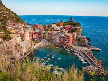 De bedste rejsemål i Italien - Cinque Terre - Rejsdiglykkelig.dk
