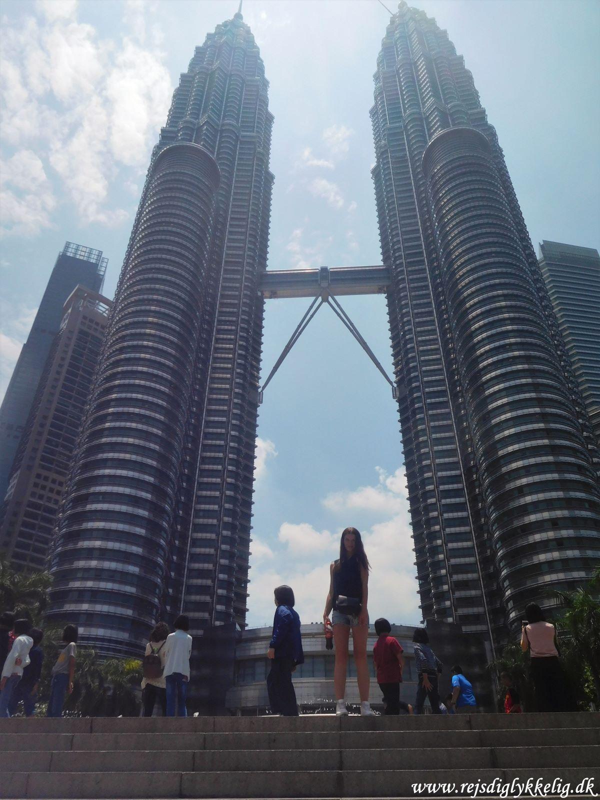 Tilbageblik på 2019 - Patronas Towers i Kuala Lumpur - Rejsdiglykkelig.dk