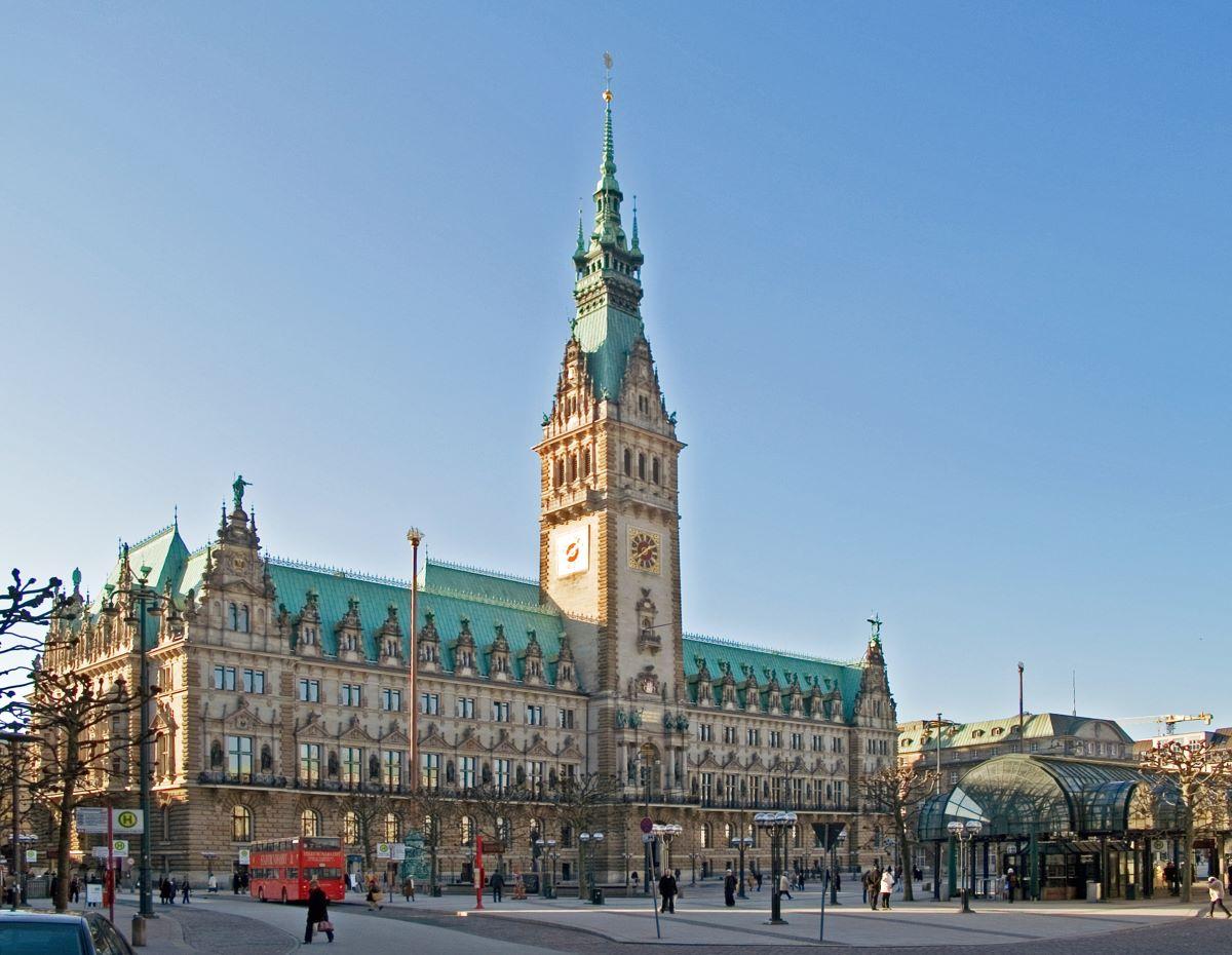 Hamburger Rathaus - Rejsdiglykkelig.dk