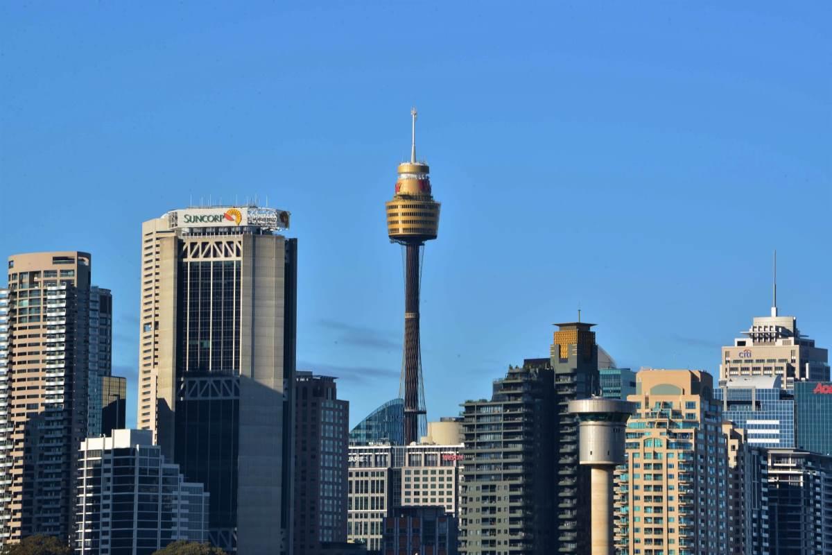 De bedste oplevelser i Sydney - Sydney Tower - Rejs Dig Lykkelig