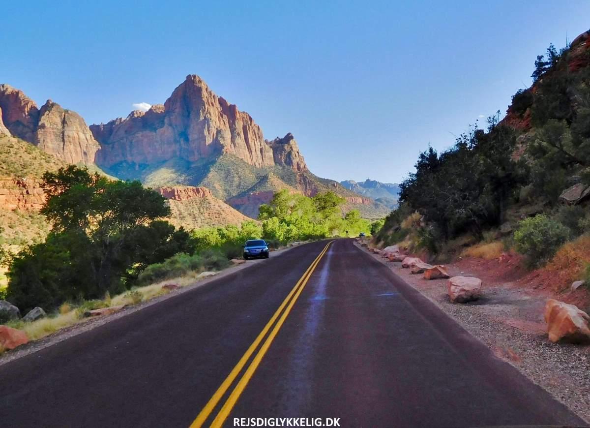 12 Smukke Nationalparker i USA - Zion - Rejs Dig Lykkelig