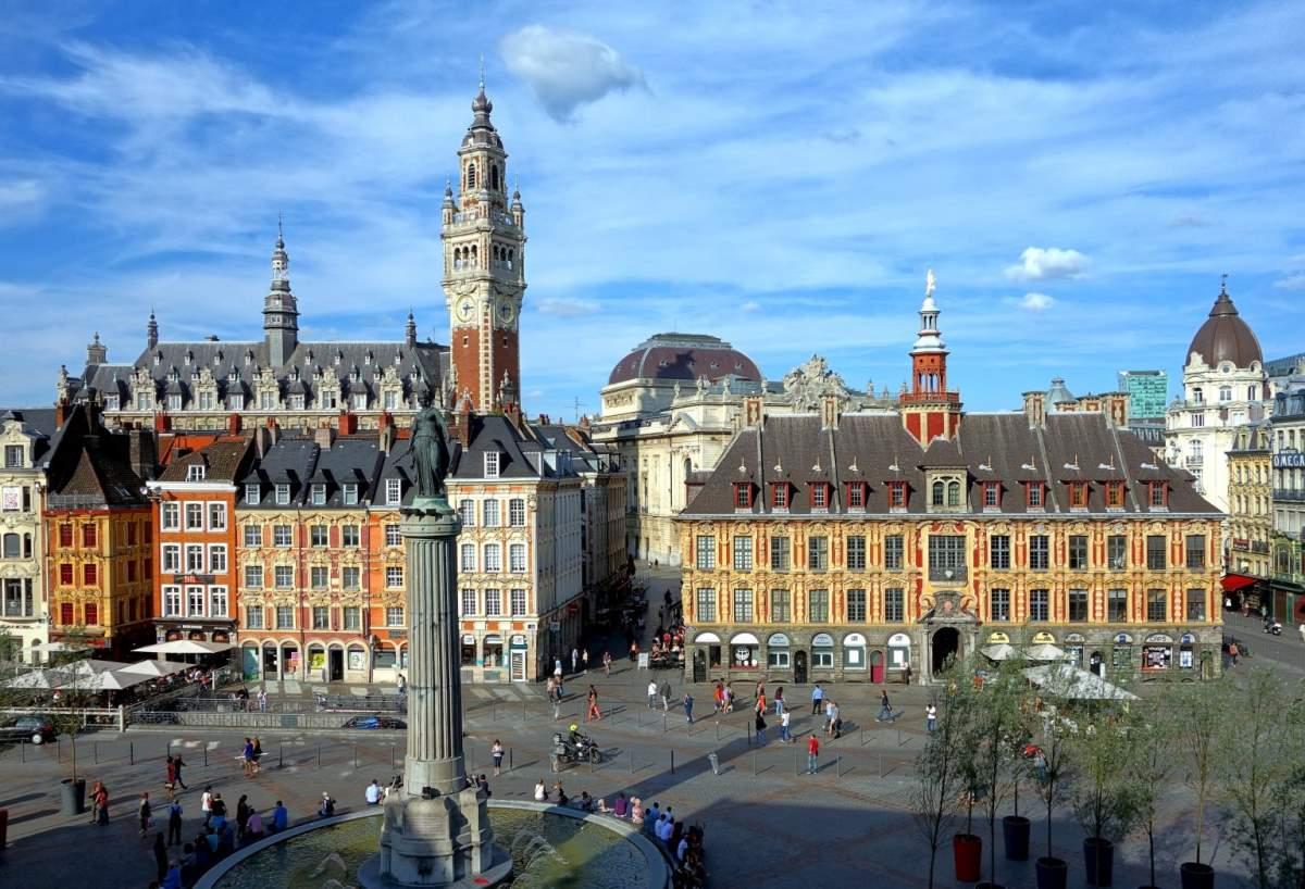 De Bedste Rejsemål i Frankrig - Lille - Rejs Dig Lykkelig