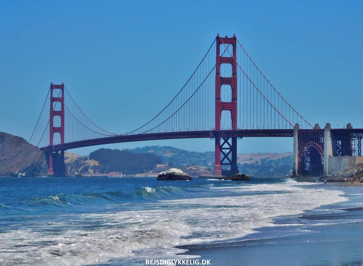 Golden Gate Bridge - Rejs Dig Lykkelig