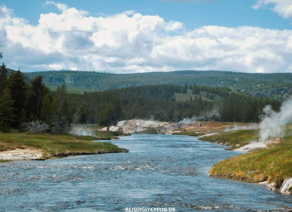 Firehole River - Rejs Dig Lykkelig