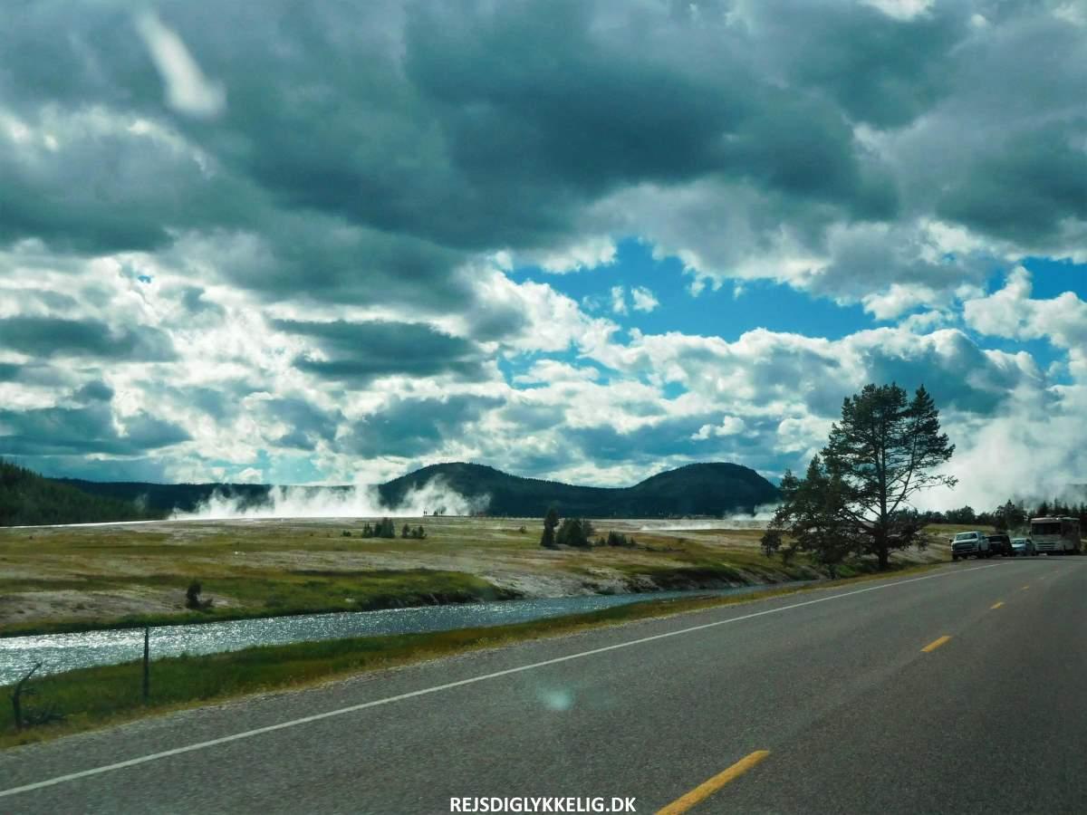 Guide til Yellowstone National Park - Kom rundt i parken - Rejs Dig Lykkelig