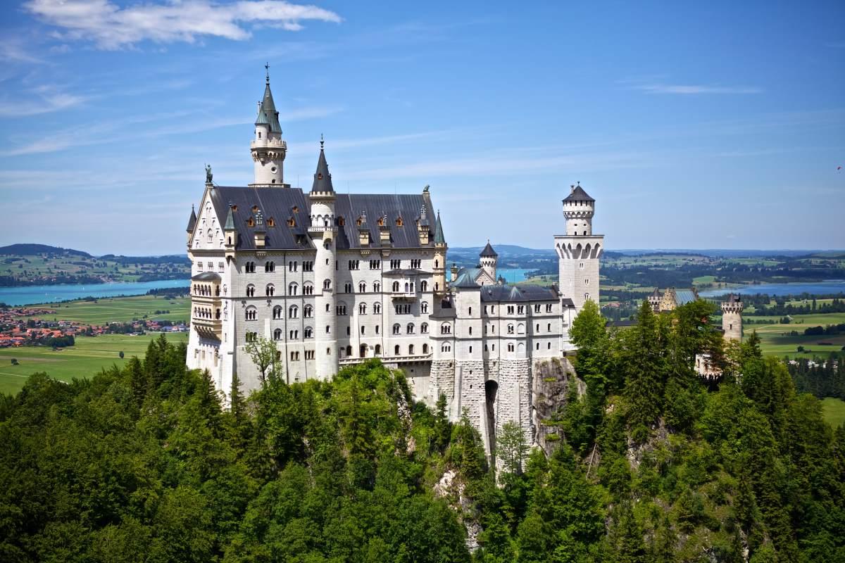 Schloss Neuschwanstein - Rejs Dig Lykkelig