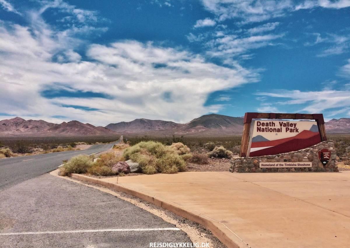 Guide til Death Valley - Indgangspris - Rejs Dig Lykkelig