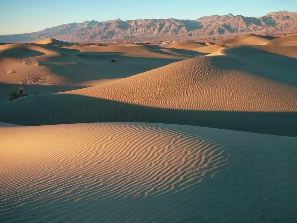 Mesquite Flat Sand Dunes - Rejs Dig Lykkelig