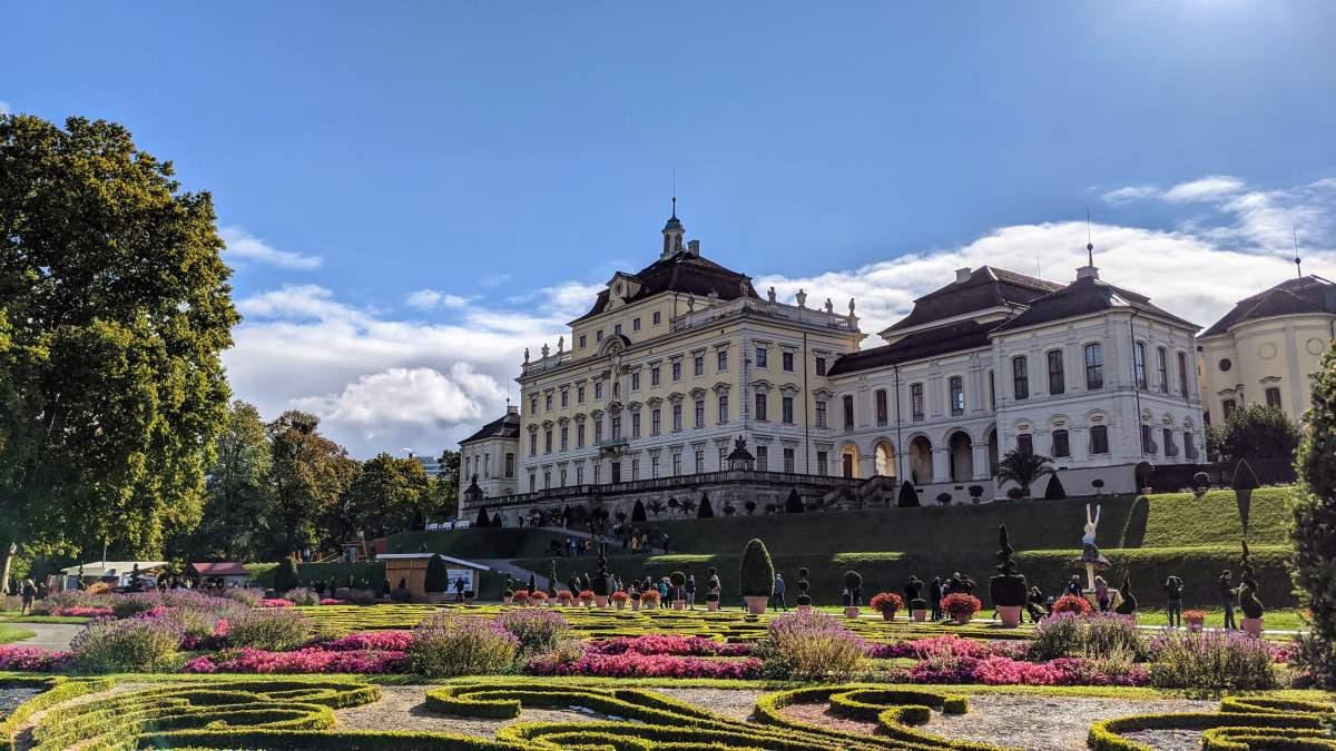 Ludwigsburg Palace - Rejs Dig Lykkelig