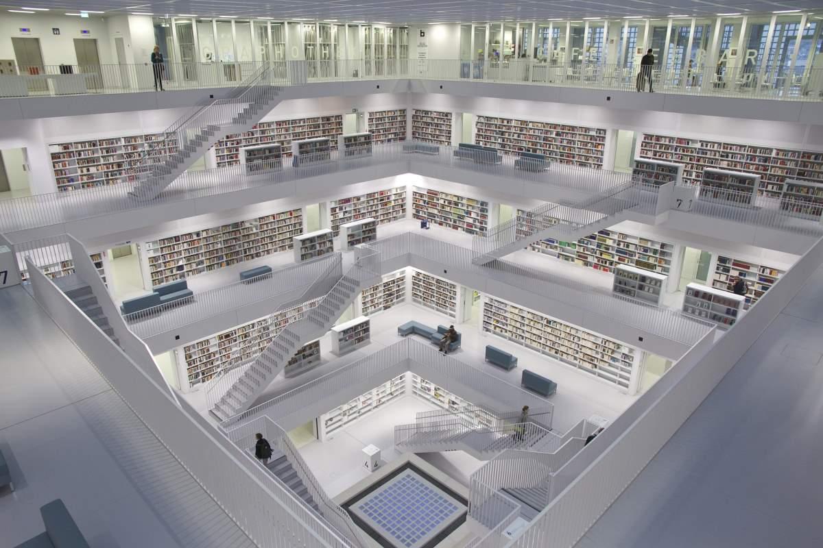 Public Library Stuttgart - Rejs Dig Lykkelig