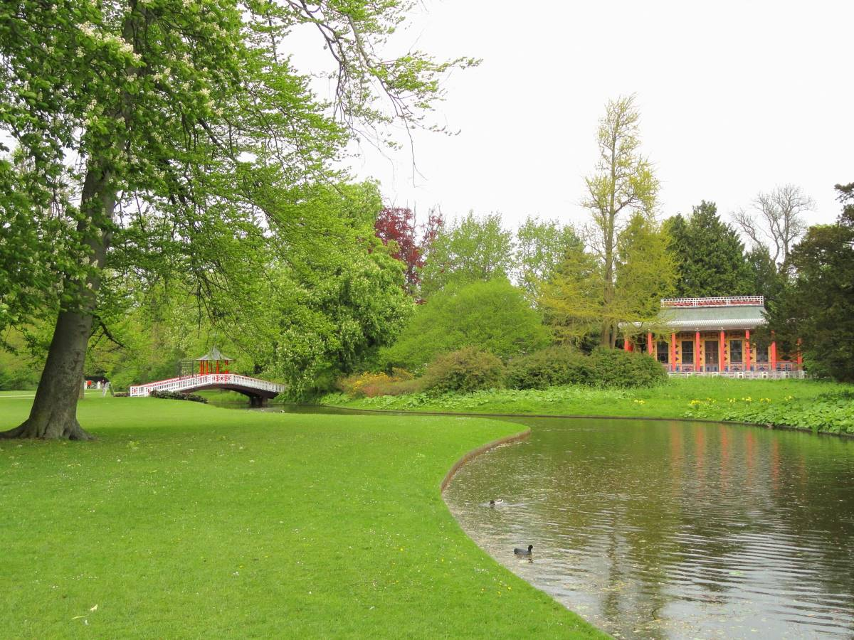 Top 20 Gratis Oplevelser i København - Frederiksberg Have - Rejs Dig Lykkelig