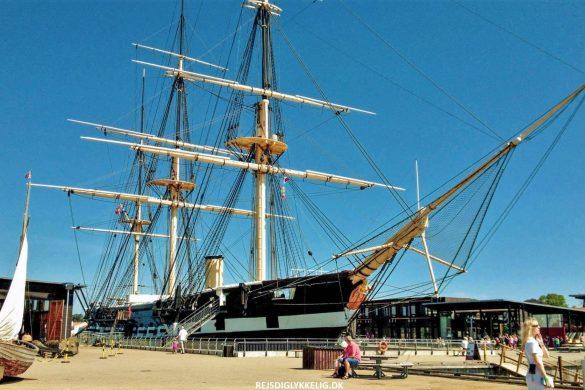 Besøg Fregatten Jylland- Verdens største træskib - Rejs Dig Lykkelig