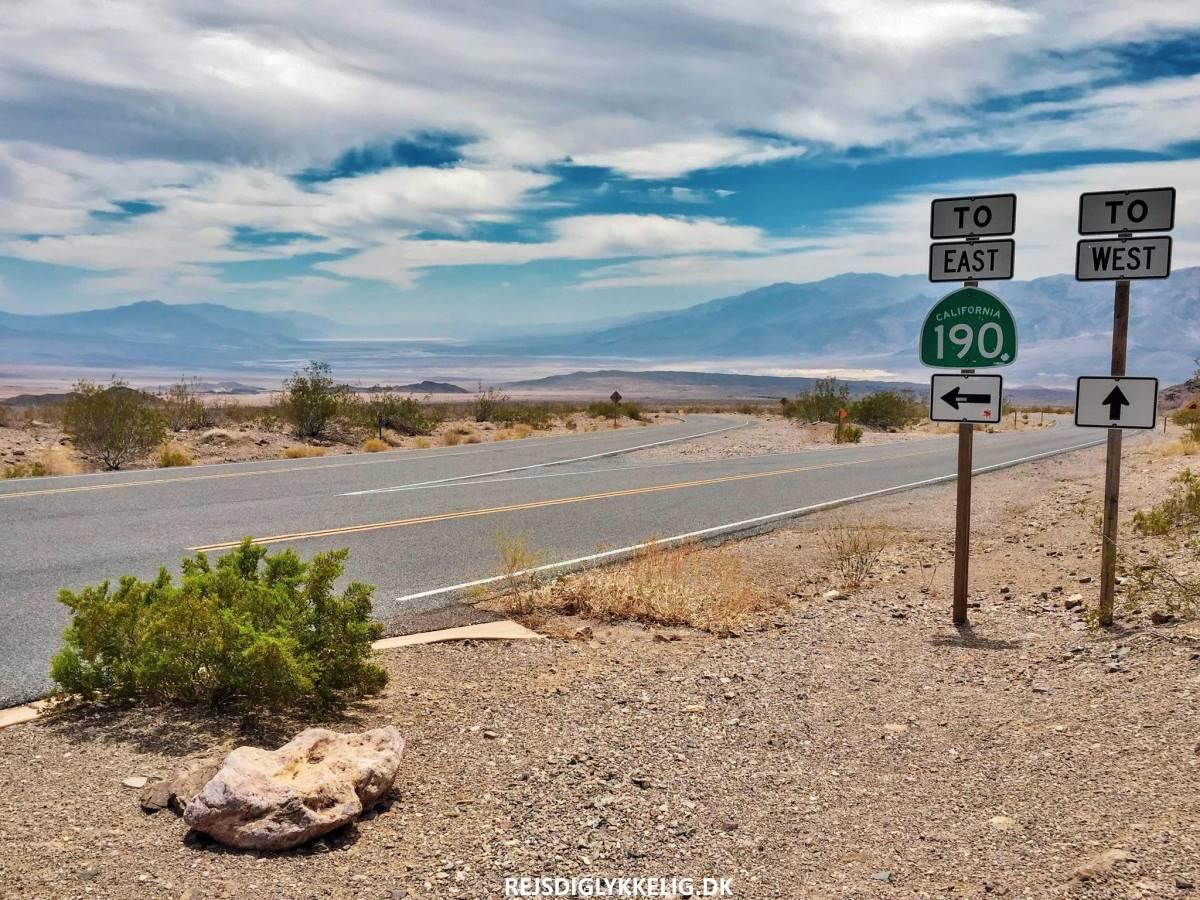 Road Trip Rute i Det Vestlige USA - Death Valley - Rejs Dig Lykkelig