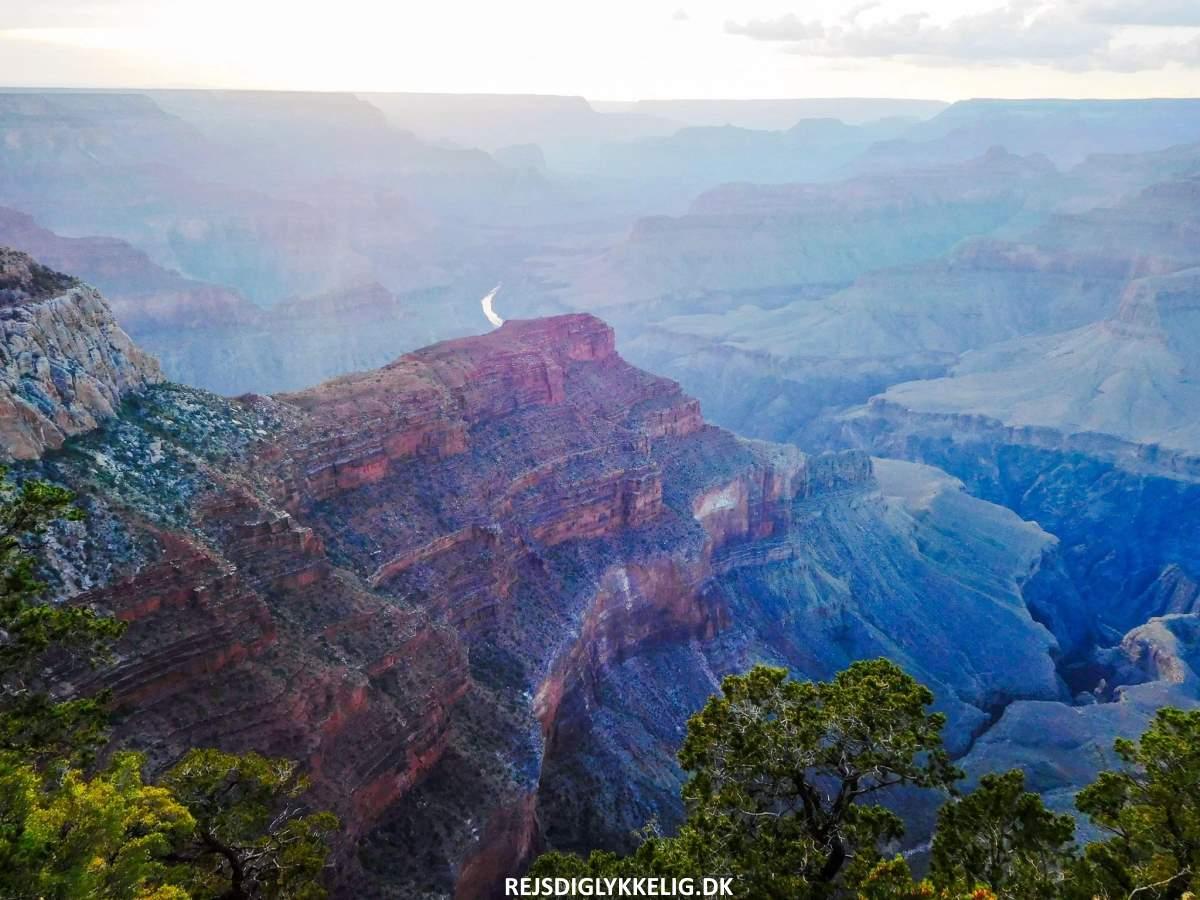 Road Trip Rute i Det Vestlige USA - Grand Canyon - Rejs Dig Lykkelig